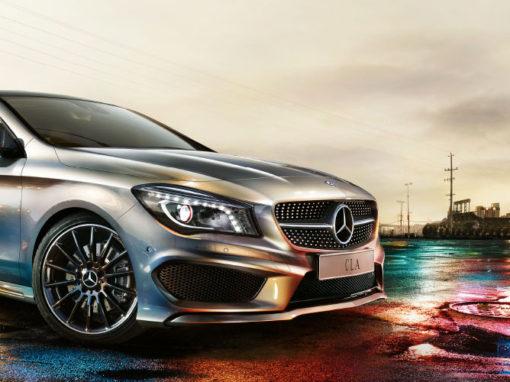 Mercedes-Benz – Lancio CLA
